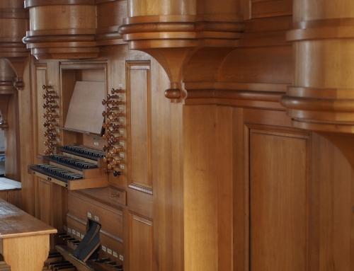 Orgelforum am 1. Juli – Änderung!