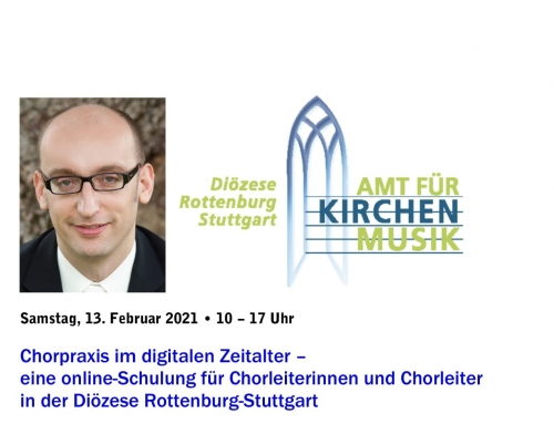 Workshop – Chorpraxis im digitalen Zeitalter am 13.2.